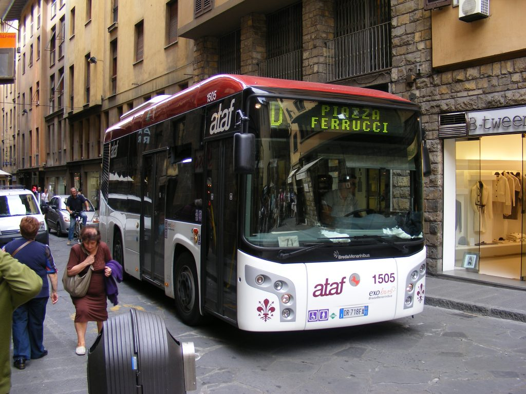 Bus services in Florence