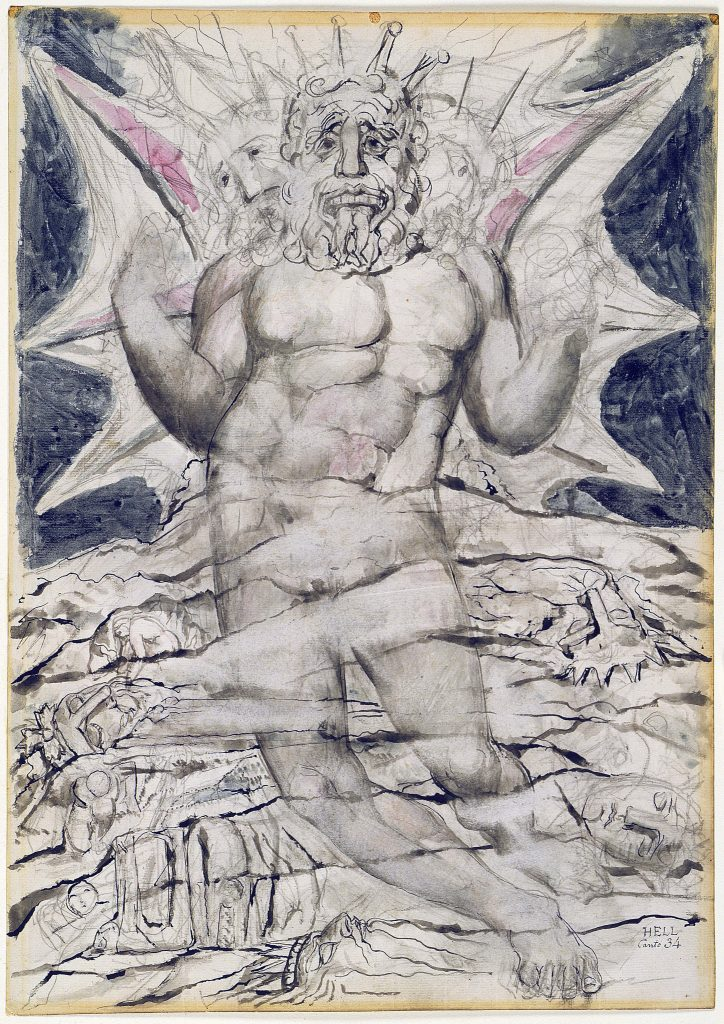 Illustrations to Dante Divine Comedy Lucifer