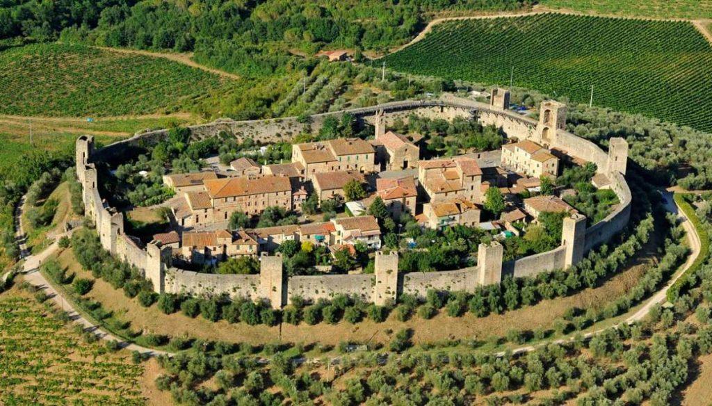 Monteriggioni castle city