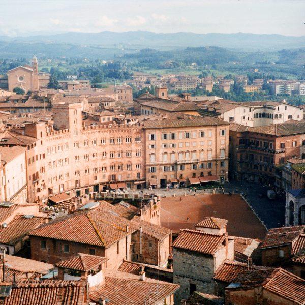 Siena, veduta
