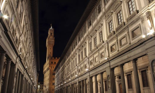 History of Uffizi Gallery